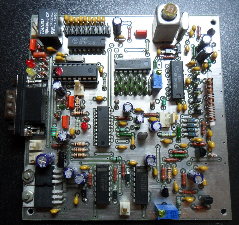 ...для 9 диапазонного SDR трансивера на LC72131.