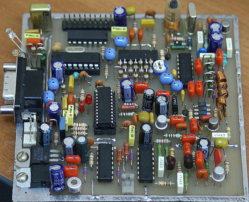 ...на LC72131 с управлением через PowerSDR по...