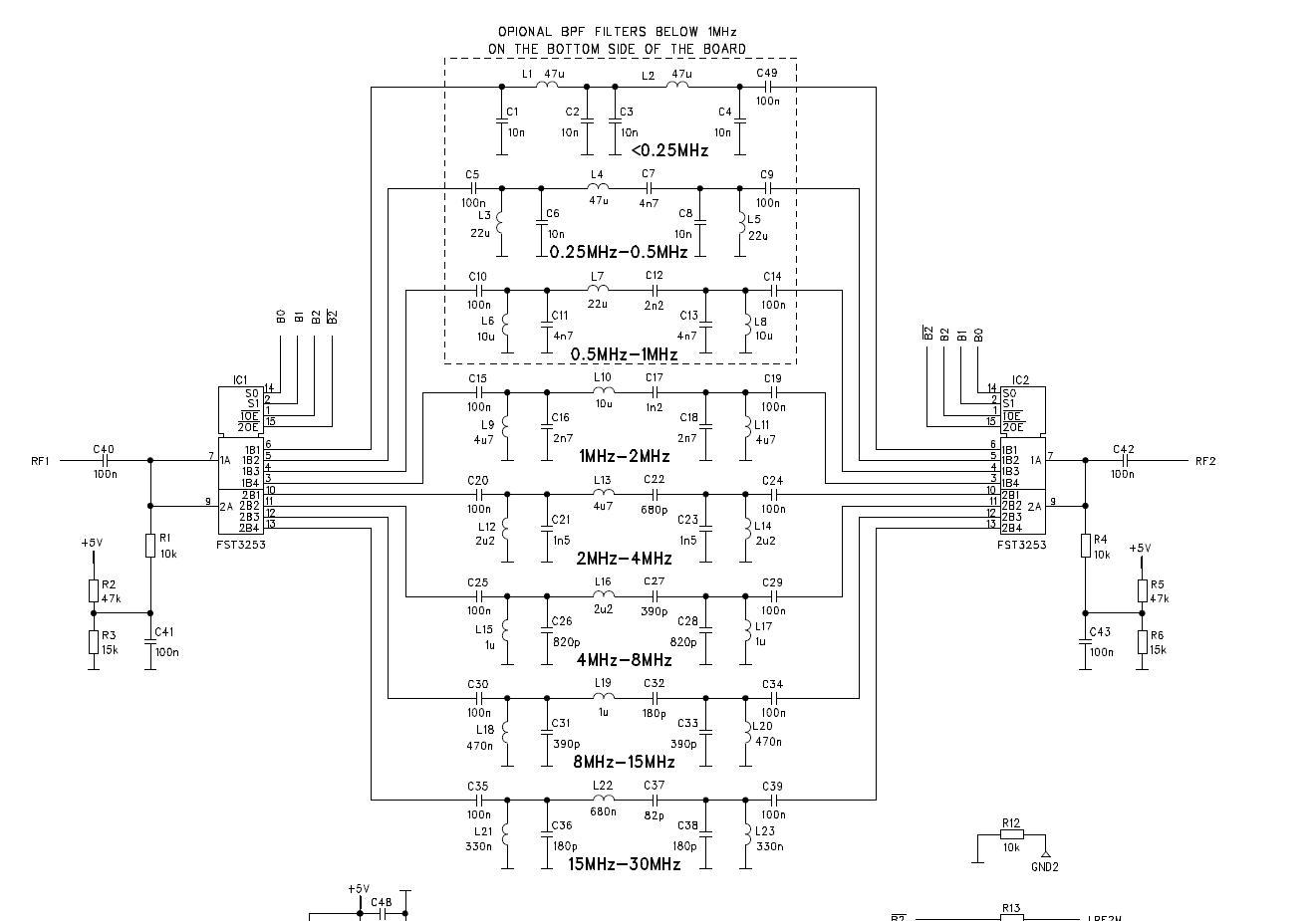 Полосовые фильтры для трансивера своими руками 3