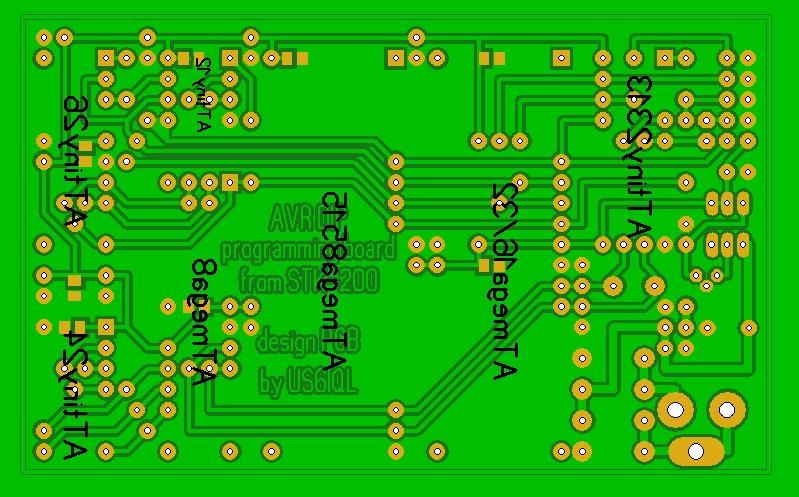 Для программирования микроконтроллеров ATMEL чаще всего используют внутрисхемное программирование ICSP.