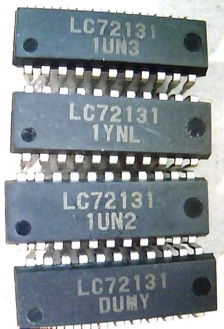 Внутри корпуса LC72131 на входе FMIN 18 ножка...